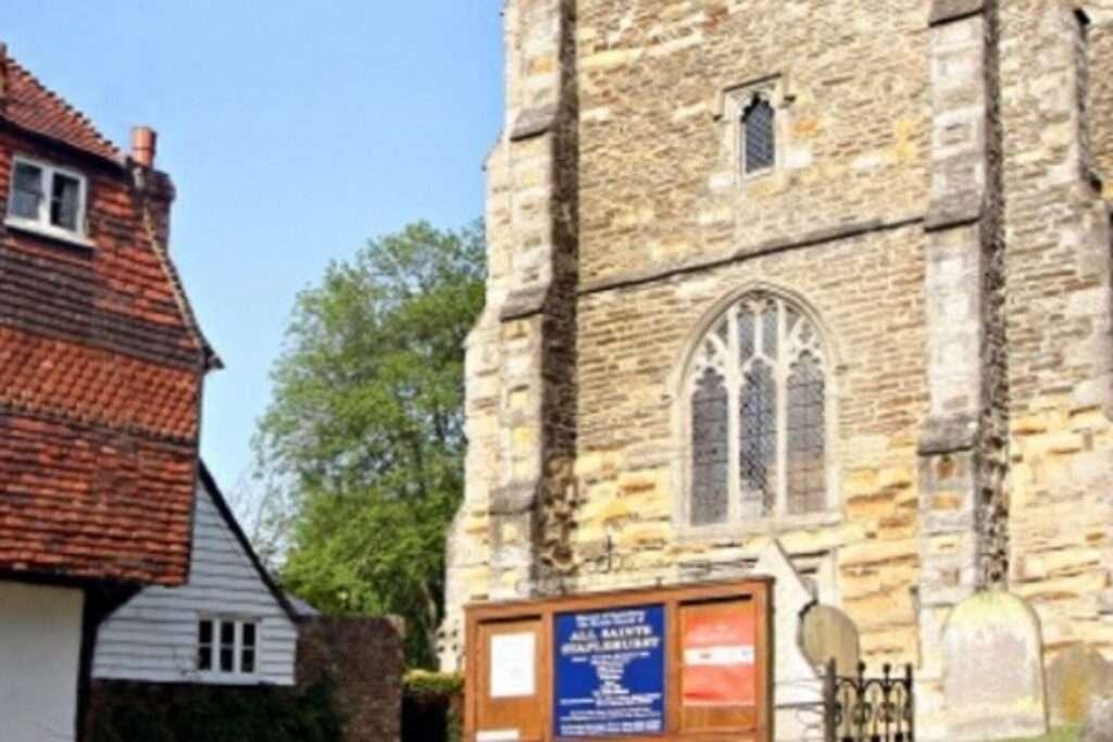 All Saints Church Entrance
