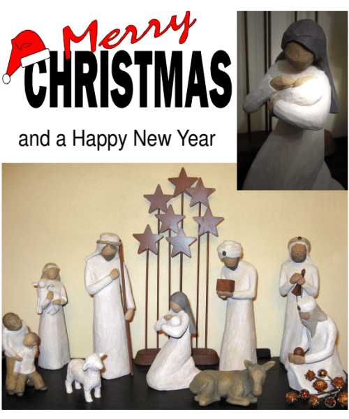 brady nativity scene photo