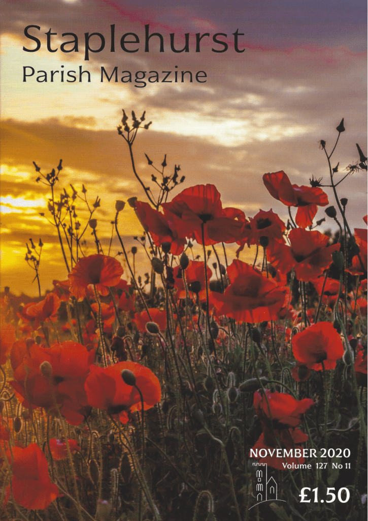 november 2020 parish magazine cover