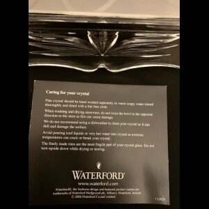 watereford cyrstal picture frame