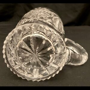 crystal beer tankard