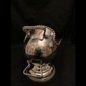 silver plated sugar bowl