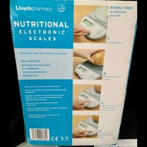 brand new nutritional scales