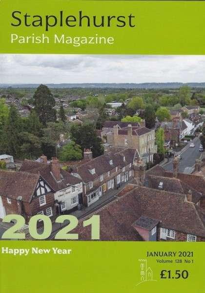 january 2021 parish magazine cover
