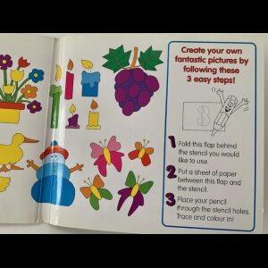Childrens Stencil Book