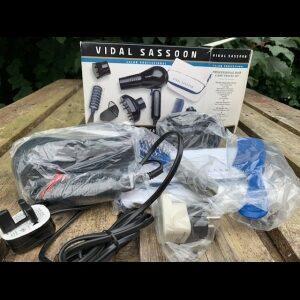 Vidal Hair care travel set